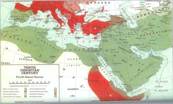 Islams Spread - 10th Century