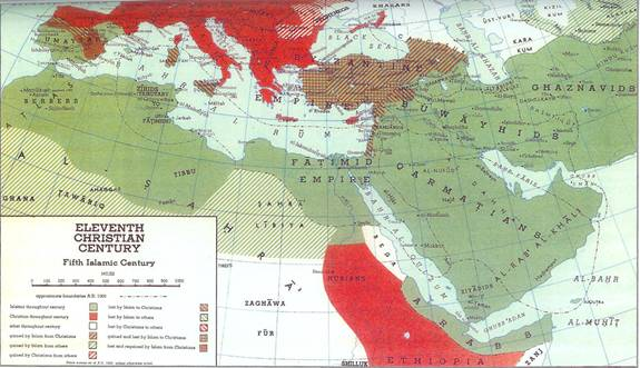 Islams Spread - 11th century